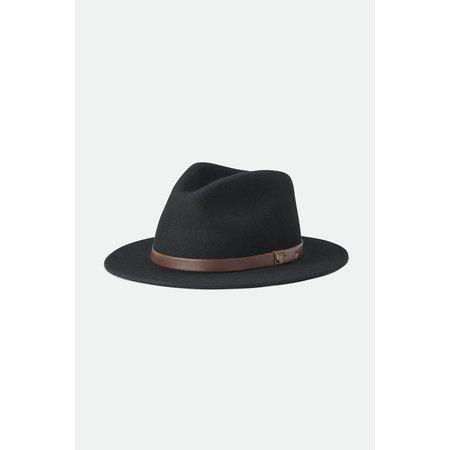 Messer Fedora - Black with Brown Belt