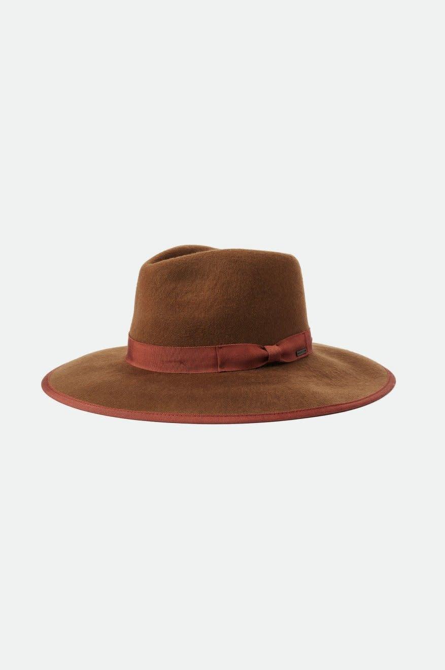 Jo Rancher Felt Hat - Toffee