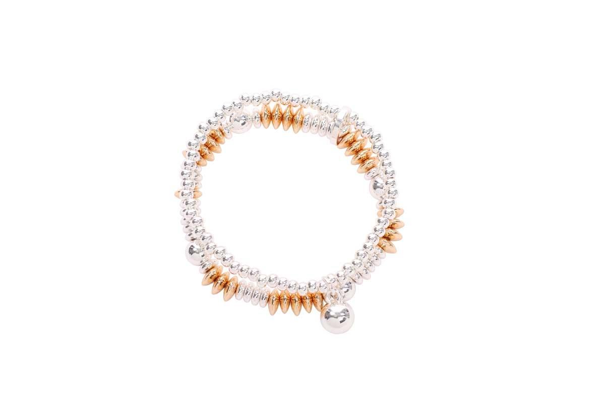 Two Strand Gold Bracelet