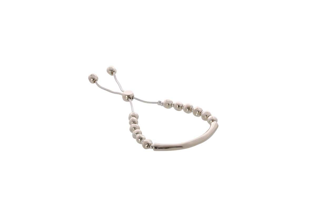 Light Gold and Silver Adjustable Bracelet