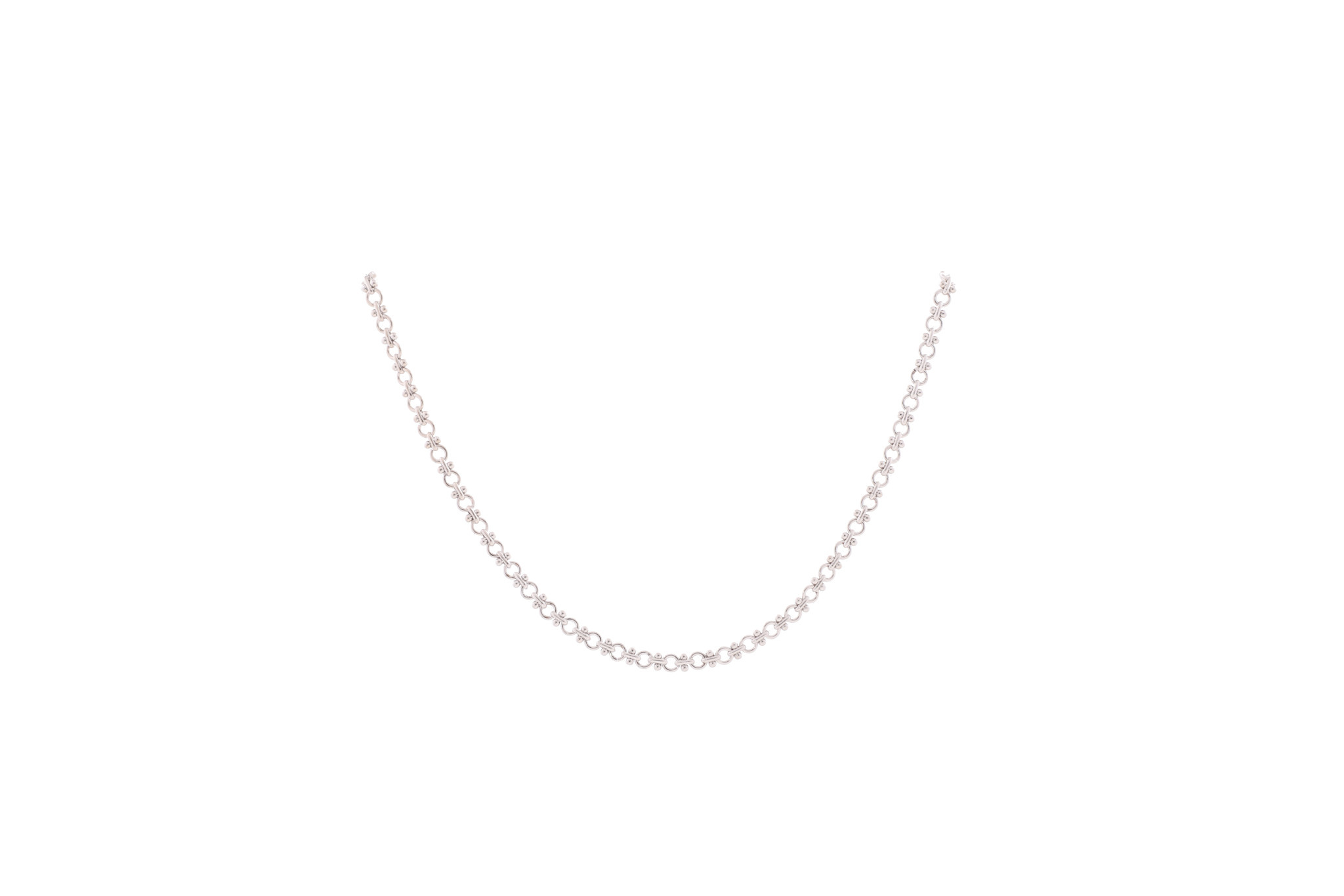 Small Fancy Chain Necklace