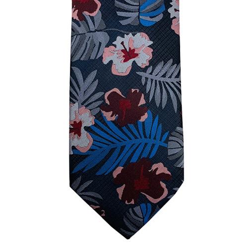 Tropical Floral Tie