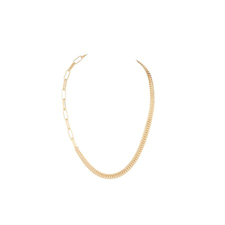 Shiny Gold Chain Necklace