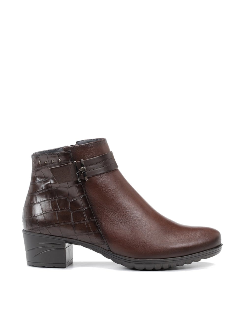 Deep Brown Ankle Boot