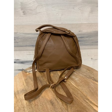 Mini Backpack - Camel