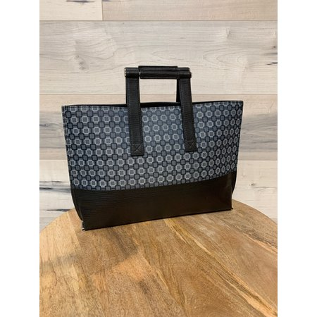 Geometric Print Handbag