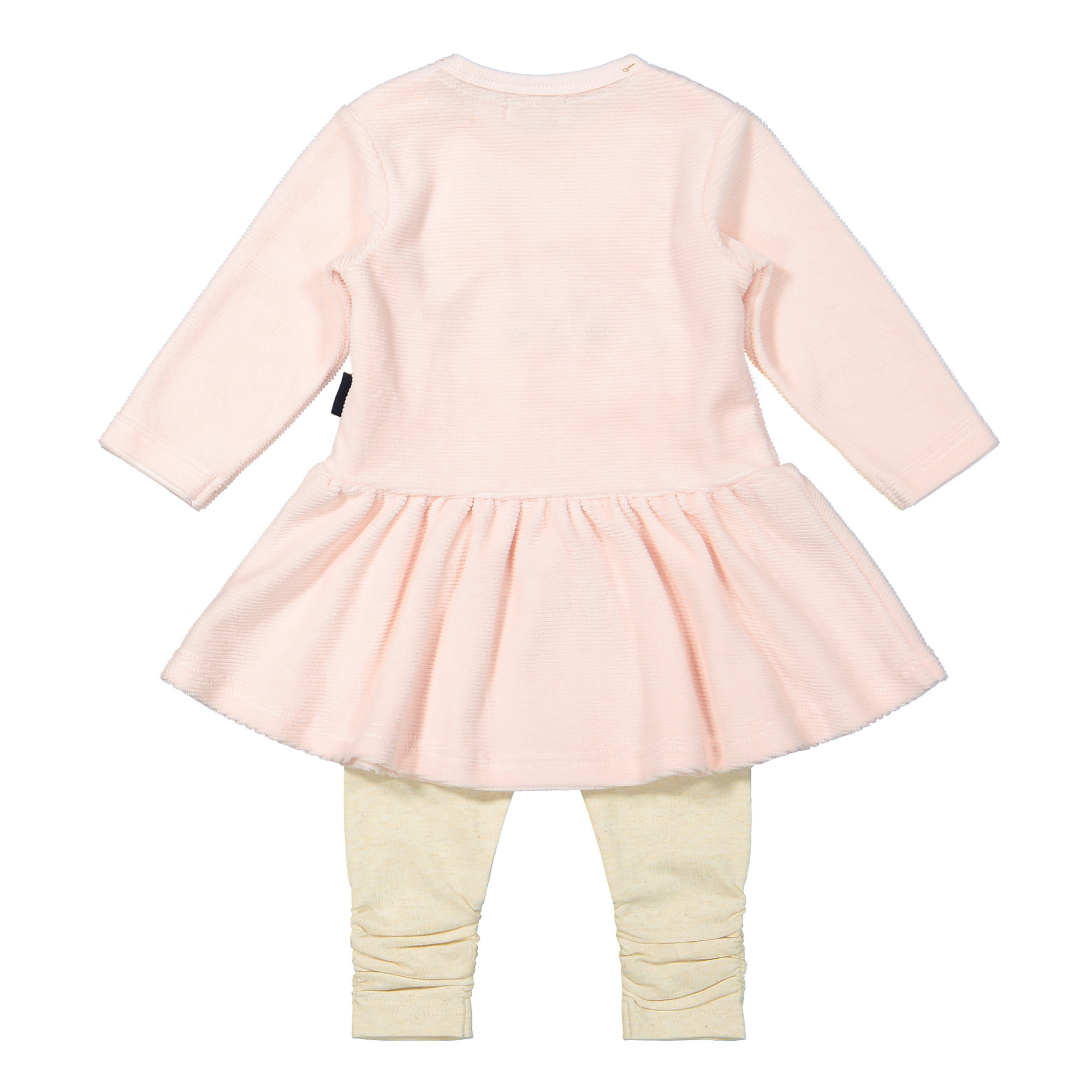 Ribbed Pink Puppy Outfit