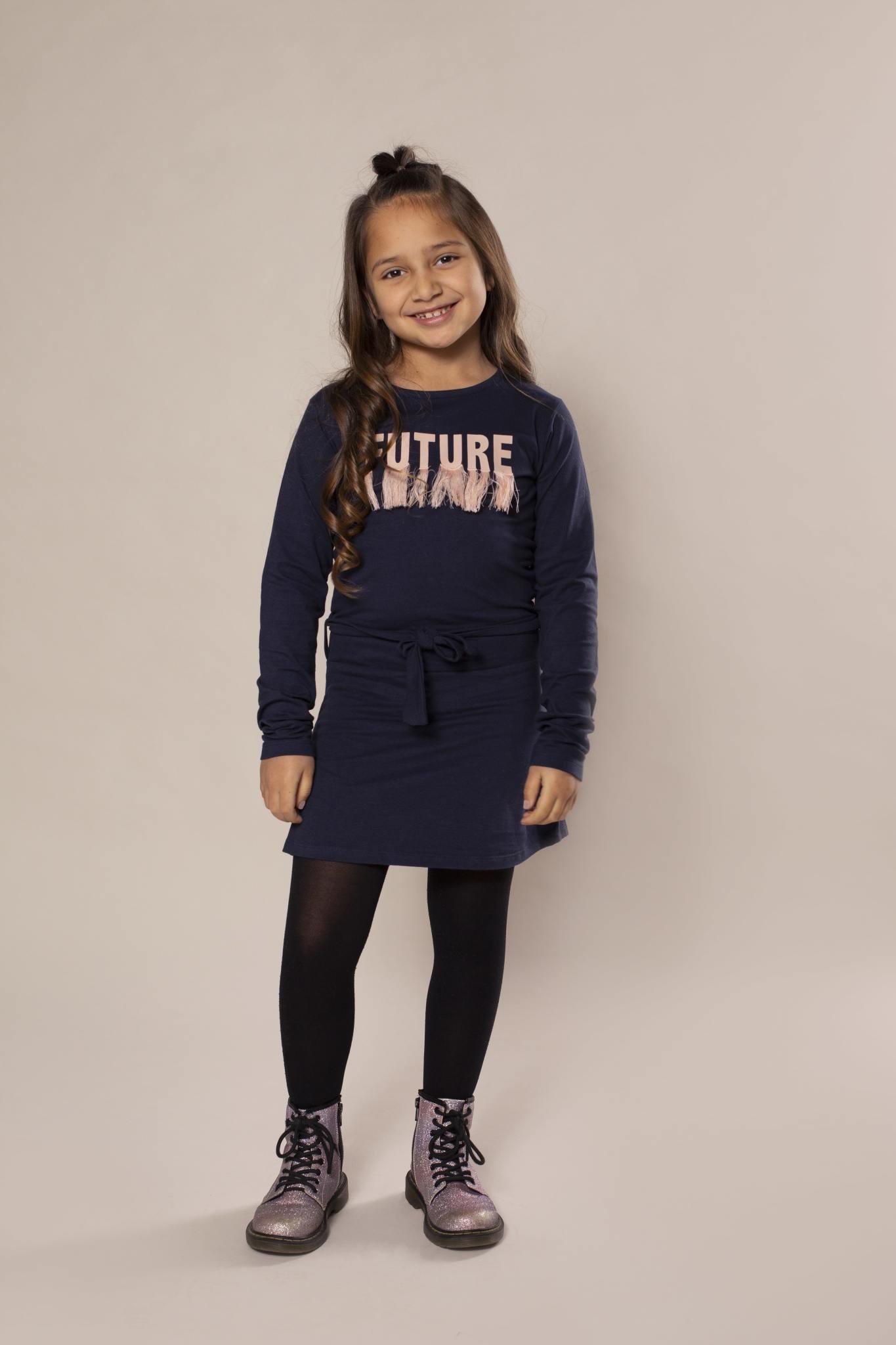Future Tassled Dress with Belt