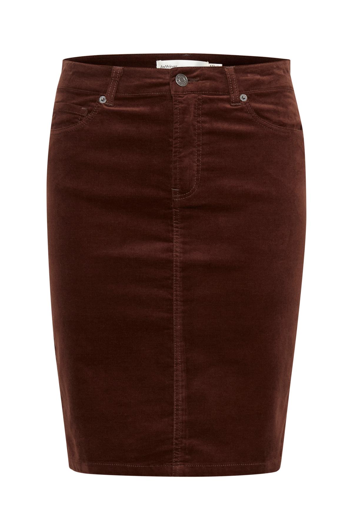Tille Skirt - Coffee Brown