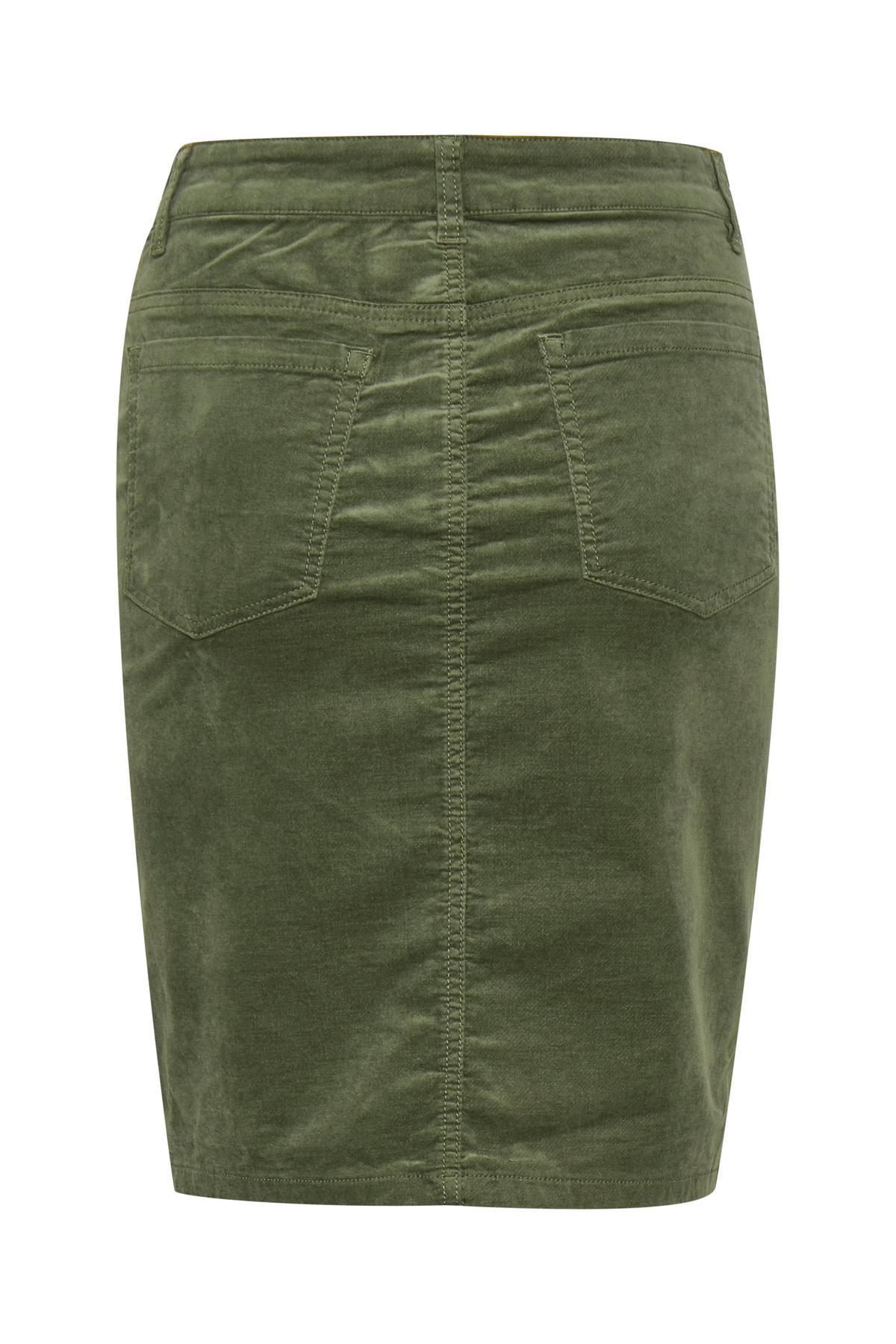 Tille Skirt - Beetle Green