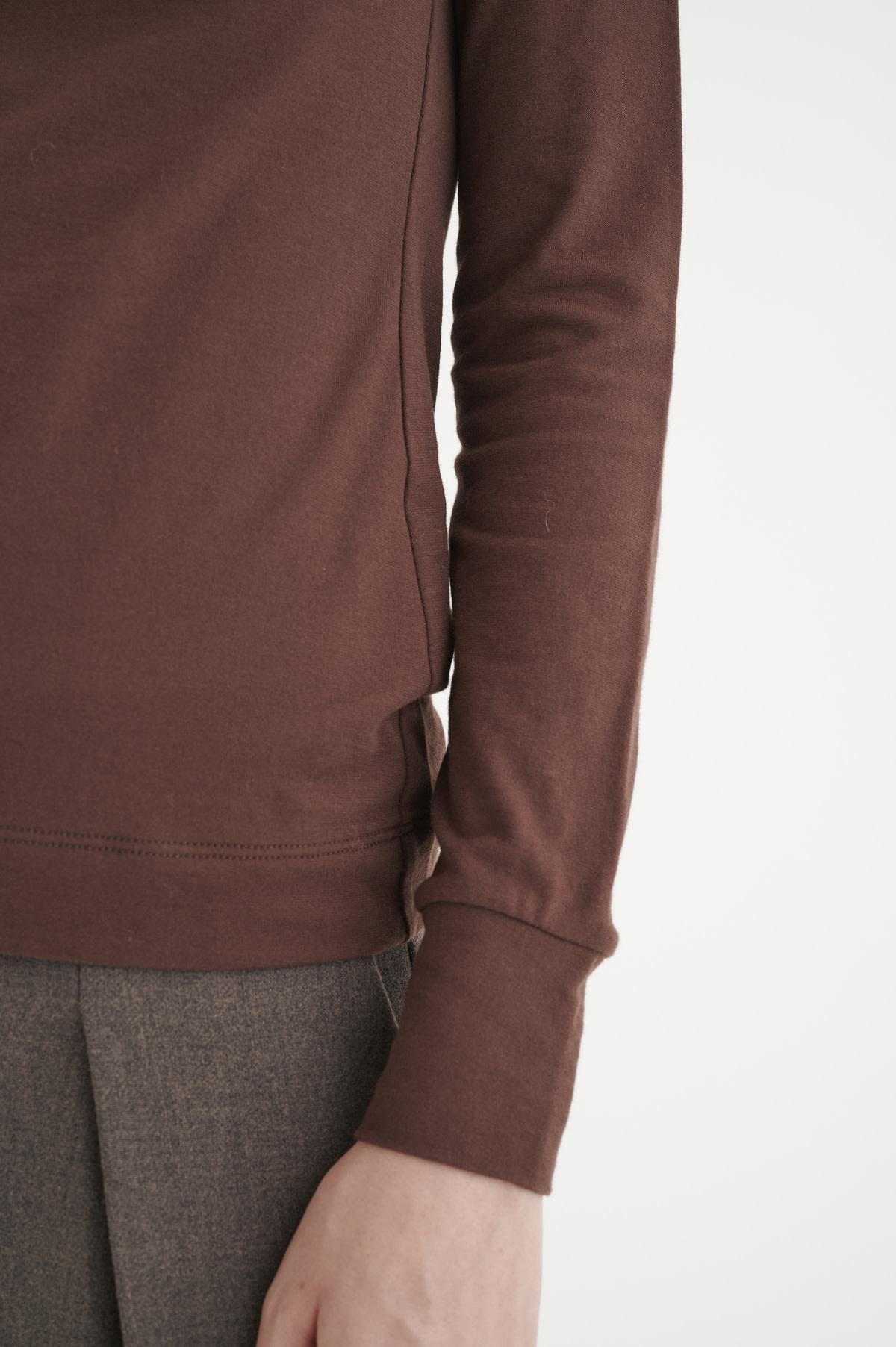 Fonda Long Sleeved Rollneck - Coffee Brown