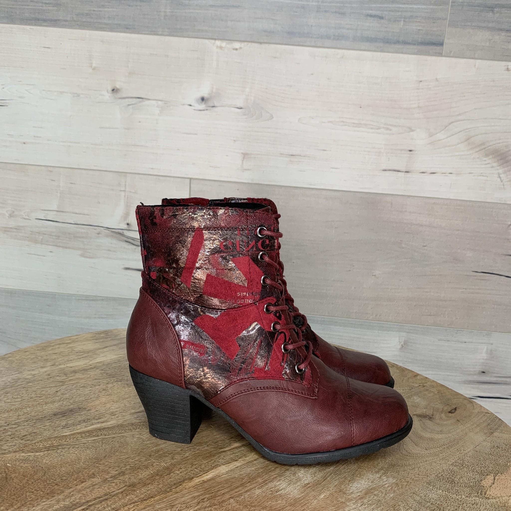 Ausar Boot - Burgundy