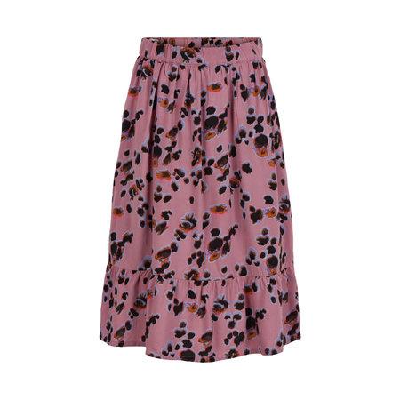 Pastel Leopard Print Skirt