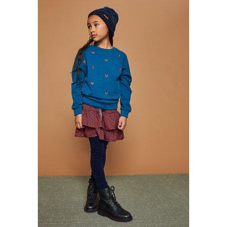 Norah Layered Skirt with Smocked Waist