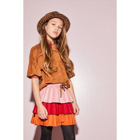 Nik Layered Plisse Skirt
