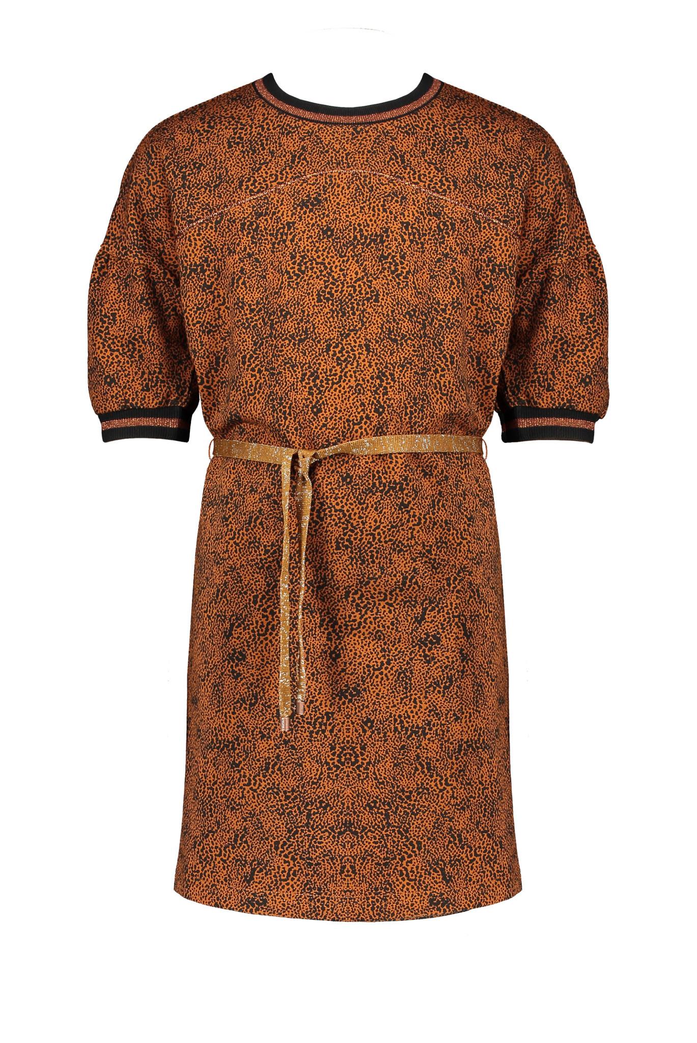 Milly Leopard Print Dress