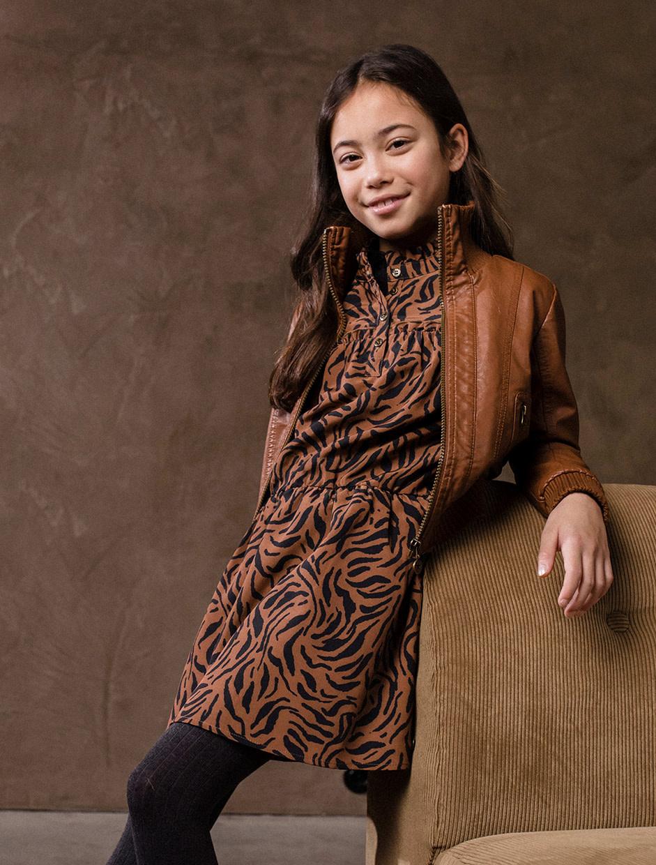 Woven Crepe Dress
