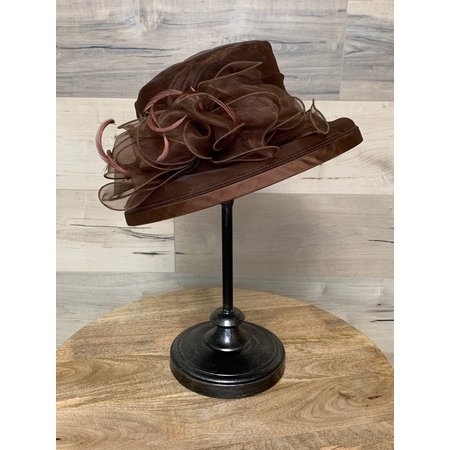 Brown Crushable Hat