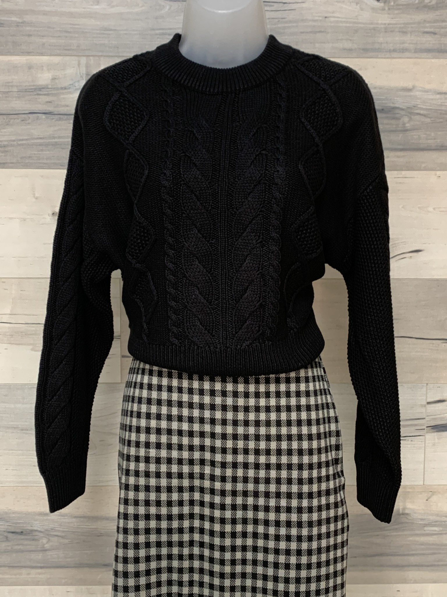 Mohut Cable Sweater