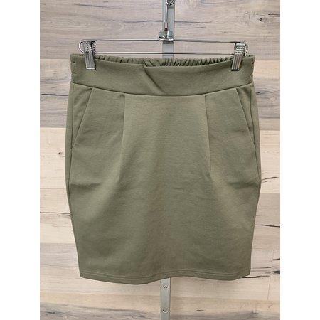Kate Skirt - Vetiver Green