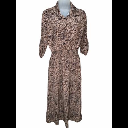 Speckled Shirt Dress