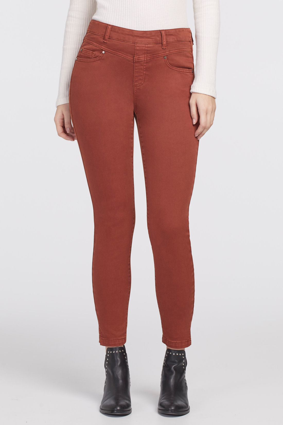 Tawny Pull-On Ankle Pant