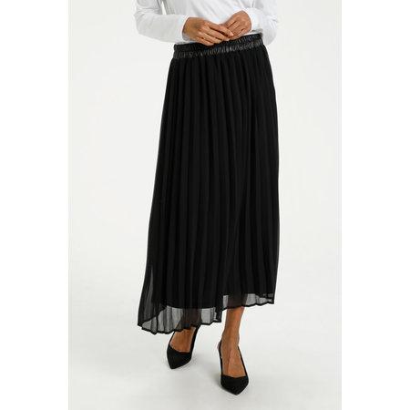Serita Plisse Skirt - Black