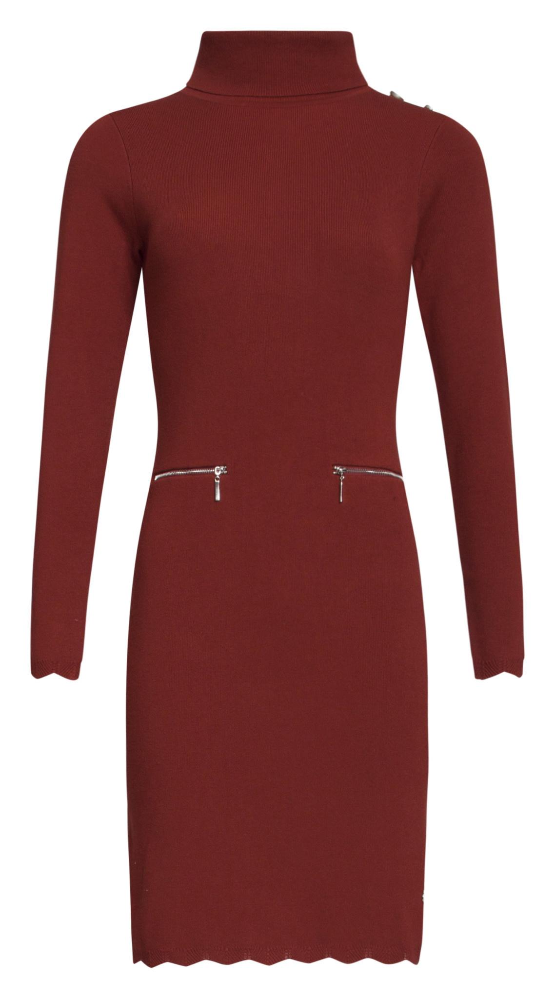 Knit Dress - Cognac
