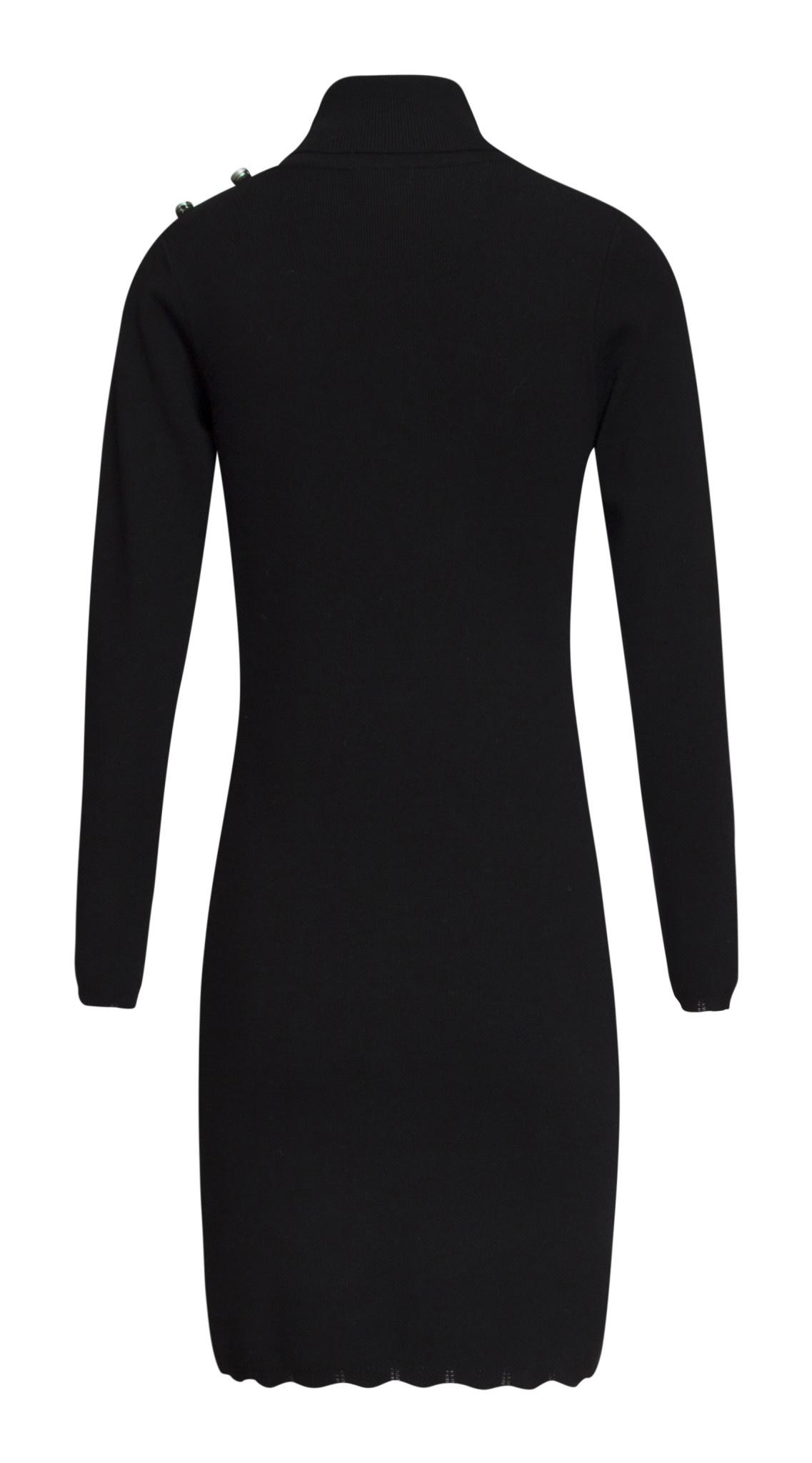 Knit Dress - Black