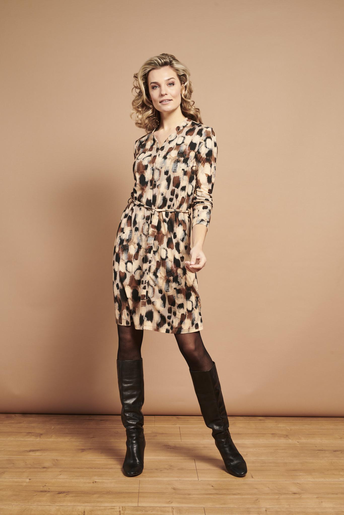 Abstract Dots Dress