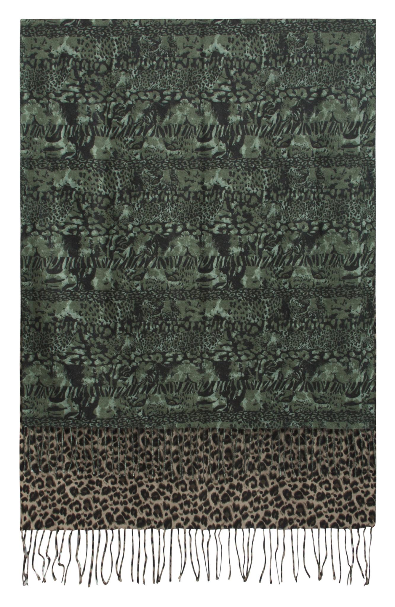 Jade Print Scarf