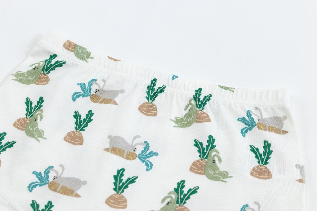 Girls Boy Shorts - Rabbits (2 Pack)