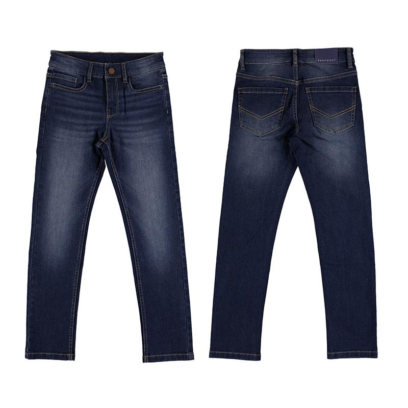 Basic Slim Fit Jeans - Dark Wash