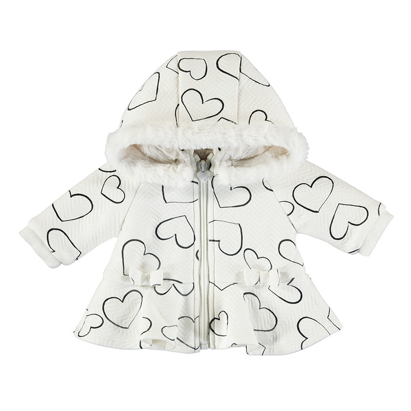 Hooded Minky Lined Coat
