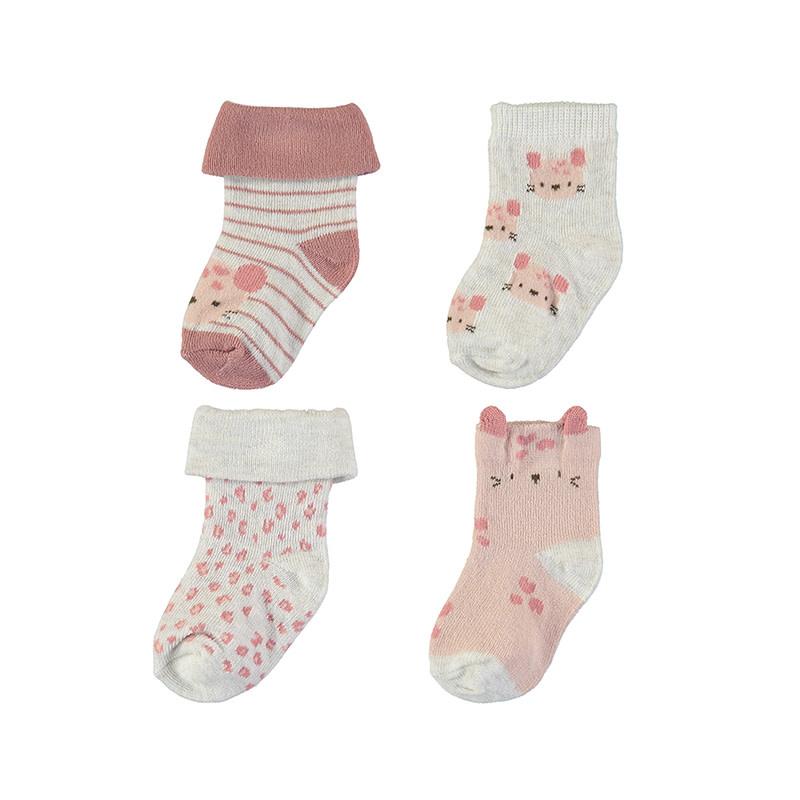 4 Piece Socks Set - Terra Cotta