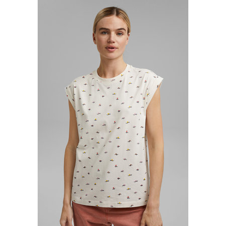 Jersey Print Tee - Off White