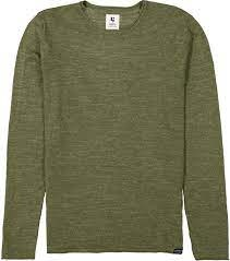 Thin Cotton Sweater - Olive