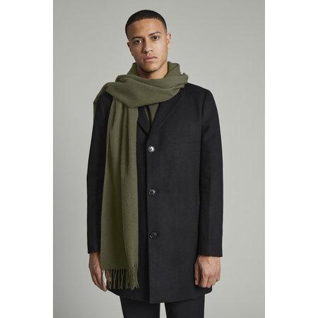 Wool Scarf - Olive