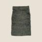 Layered Skirt - Olive and Navy Animal Print