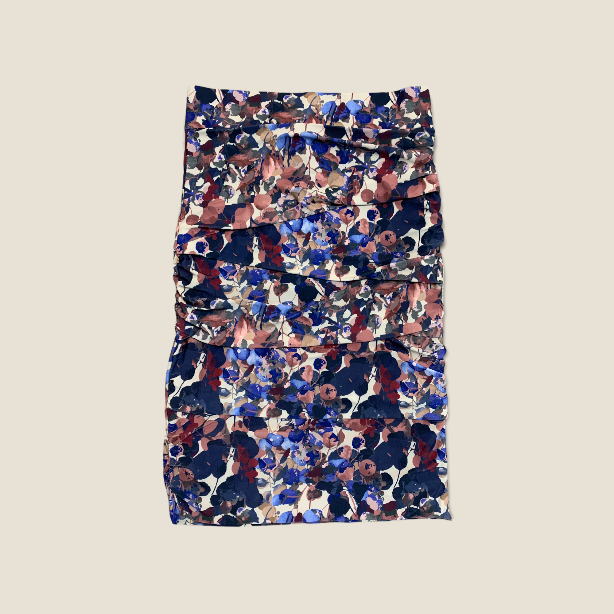Layered Skirt - Berry Fields