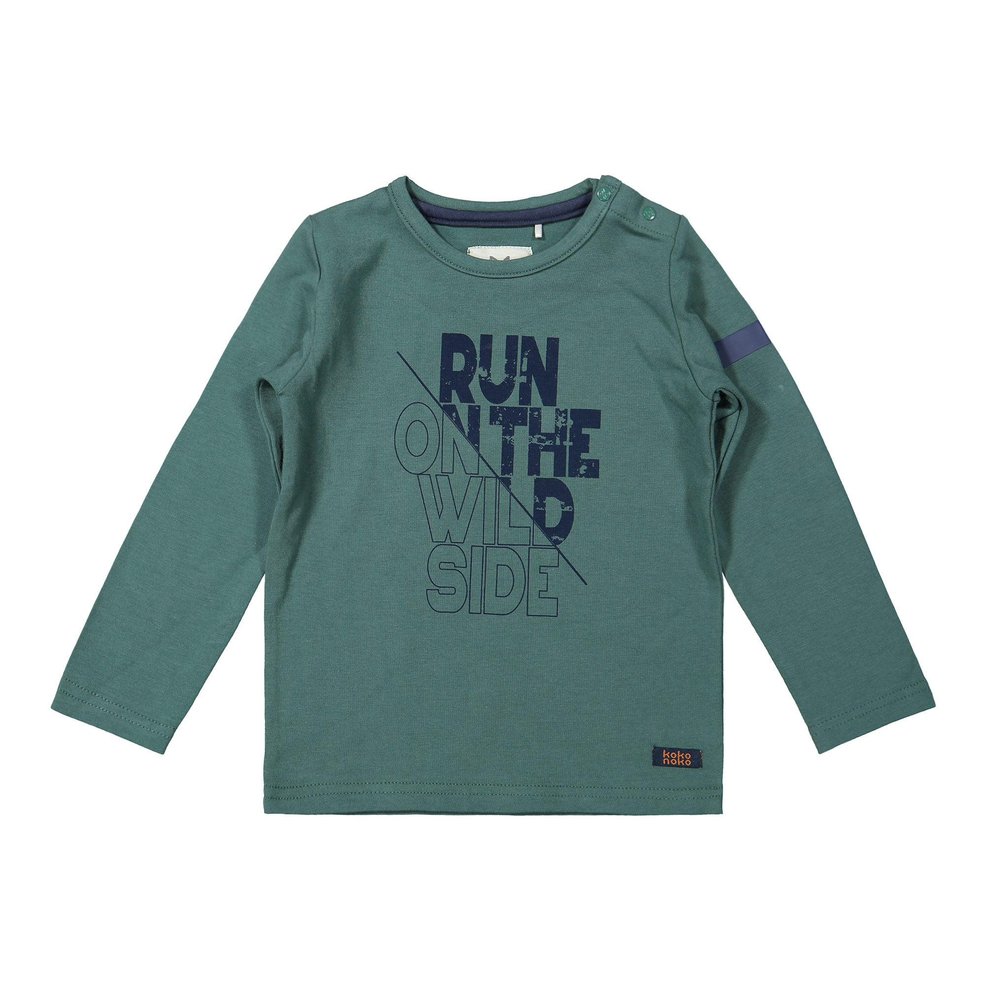 Run On the Wild Side Long Sleeve Tee