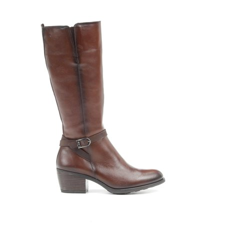 Brown Leather Riding Style Boot