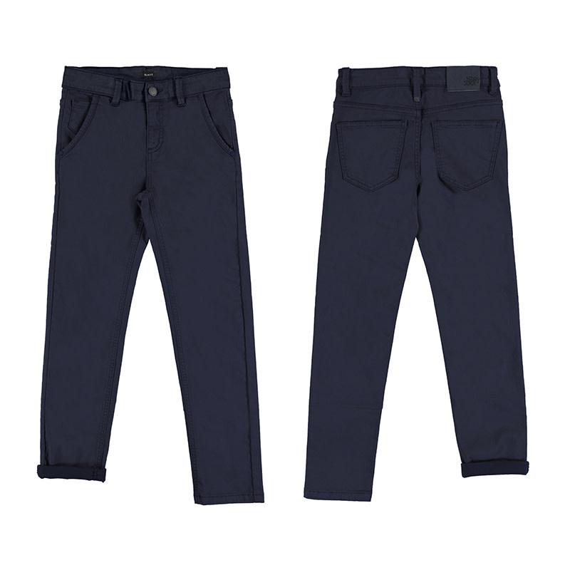 Navy 5 Pocket Pants