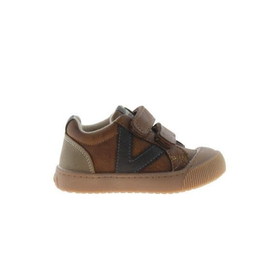 Brown Padded Leather Sneaker