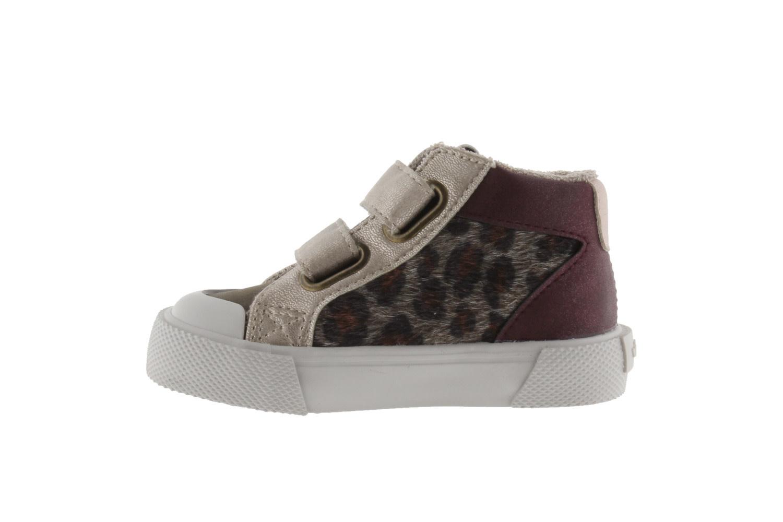 Girls Leopard Accent High Top
