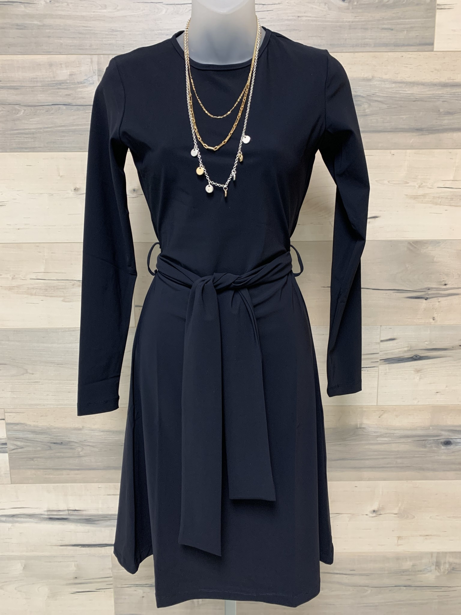 Basic Flared Dress