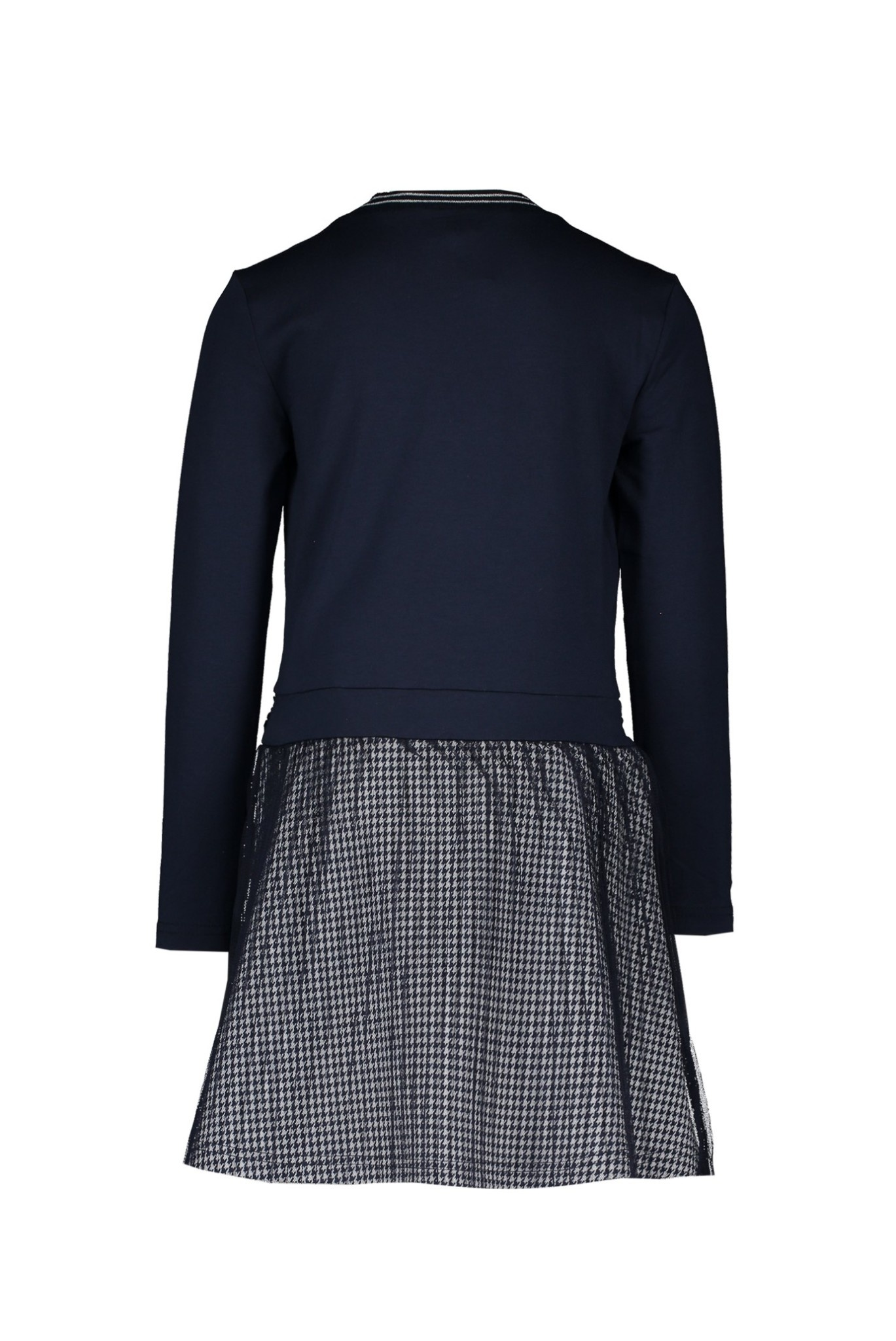 Suus  Dress with Plisse Mesh Skirt