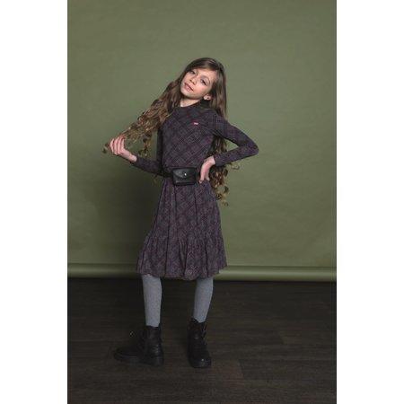 Sana Check and Leopard Dress