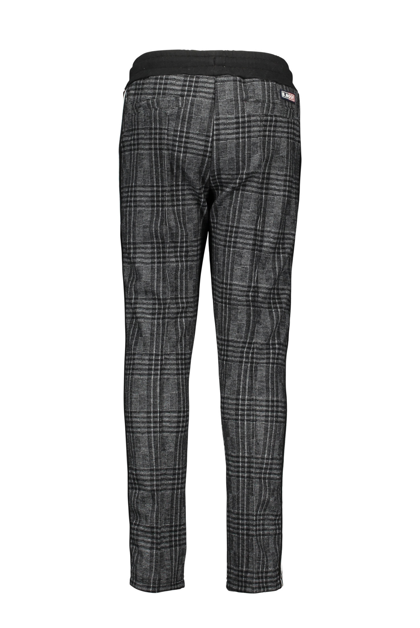 Check Pants with Sport Stripe