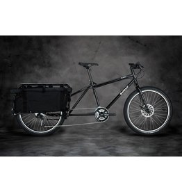 "Surly Surly Big Dummy Cargo Bike - 26"", Steel, Blacktacular, Medium"
